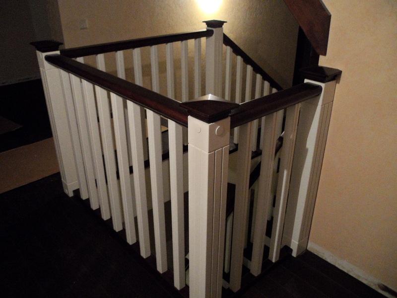Деревянные ограждения лестницы фото